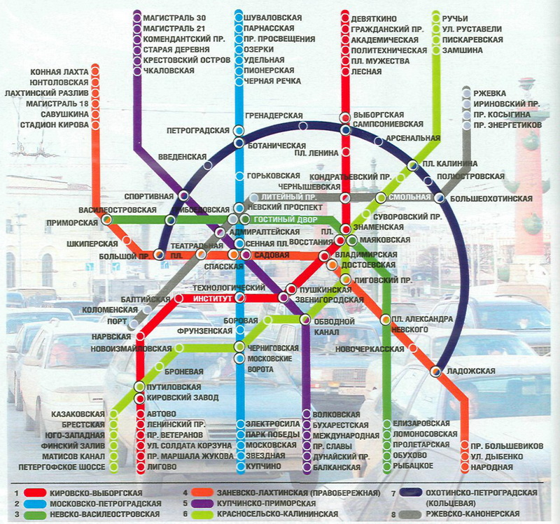 Перспективы питерского метро